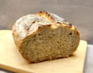 Brot ohne kneten im Römertopf gebacken